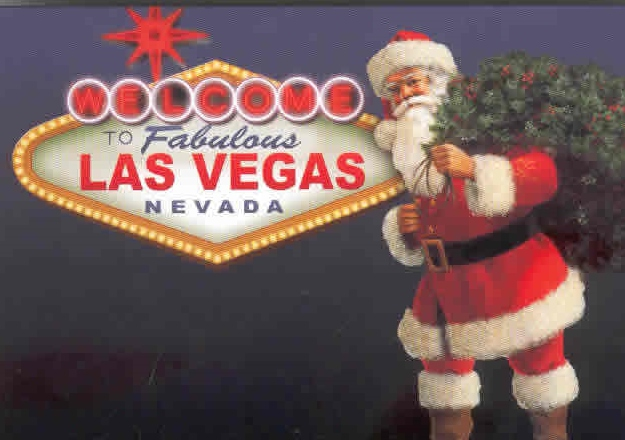 Christmas In Vegas.Christmas In Las Vegas Four Queens Hotel Tour West America